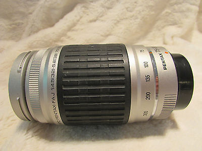 Tested Mint SMC Pentax PK  FAJ A/F  fit 75-300mm f4-5 - 5.8 AL  Zoom Lens
