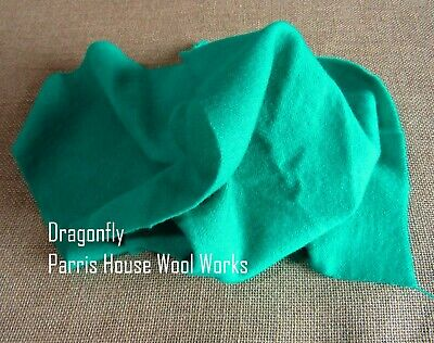 """Wool, Fat Quarter - """"Dragonfly"""" - Hand Dyed Wool"""