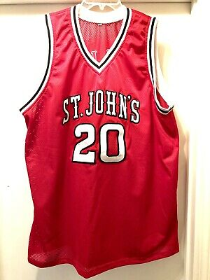 822a79b24b0 ST JOHNS Red Storm #20 CHRIS MULLIN Jersey mens Golden State Warriors SEWN