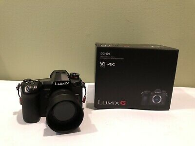 Panasonic LUMIX G9 20.3 MP Digital Camera - Black with 25mm 1.7 Lens