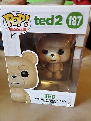 Funko Pop Ted 2 Funko With Remote In Protector New