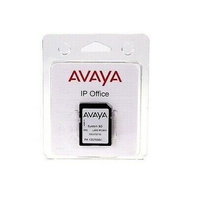 Avaya IP 500 V2 SD Card R9.1 Essentials VM PRO SIP Trunks IP Endpoints Office Wr