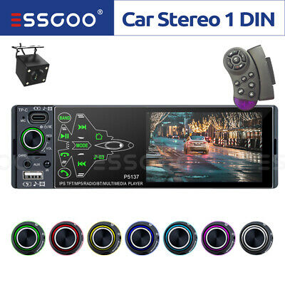 """4.1"""" HD Car Stereo Radio MP5 Player Unit BT DVR input With Free Backup Camera"""