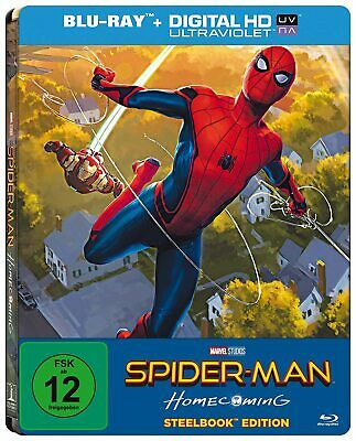 Spiderman Homecoming 3D Steelbook Edition Import + Avengers End Game Art Carte