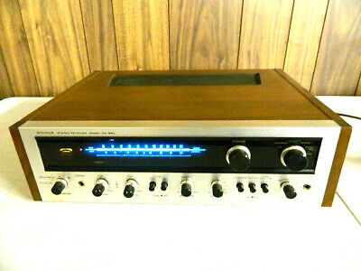 Vintage Pioneer sx-990 Stereo Receiver Unit Silverface  Powers On