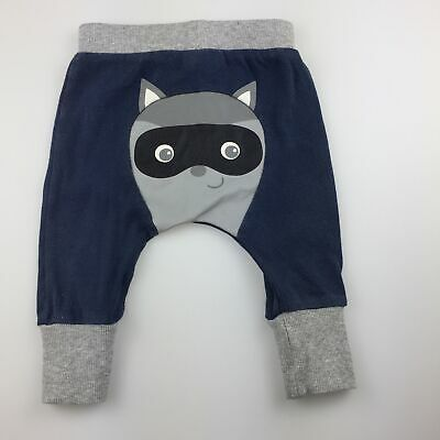 Boys size 000, Sprout, blue cotton pants / bottoms, FUC