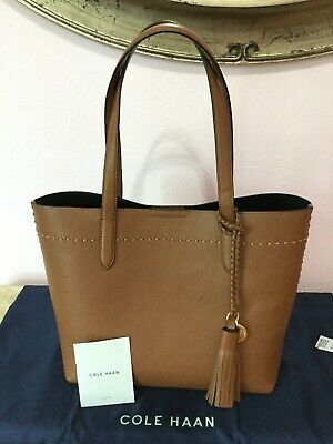 8912f7edfb NWT COLE HAAN Payson Leather Tote/ Light Mauvi/ Large - $149.00 ...