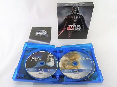 Star Wars Complete Saga Blu-ray Collection 9Disc Japan First Limited AT0402