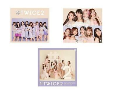 TWICE #TWICE 2 Limited Edition CD Type A & B & Regular 3set JAPAN AT0602