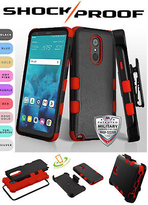 For Galaxy S10 E Plus 5G HOLSTER Case Hybrid Armor Shockproof Rugged Stand Cover