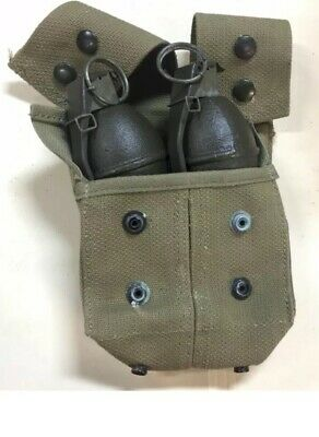 REPLICA Vintage Lemon Set Grenade  WITH SPRING KITS and Pouch Ships Free