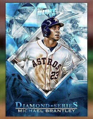 2019 Topps Bunt Digital - Michael Brantley - Diamond - Houston Astros