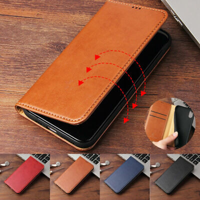 Magnetic Leather Case Flip Wallet Cover For Apple iPhone XS MAX XR X 8 7 Plus