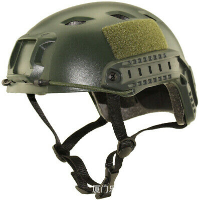 Tactical FAST Airsoft Helmet Bump Military Mich Ach Ballistic Ops Combat SWAT