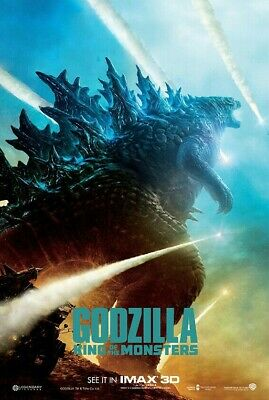Godzilla: King of the Monsters 27x40 DS LIGHT BOX POSTER Gojira