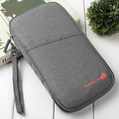 2019 New Multi Function Outdoor Bag for Cash, Passport, Card Using Travel Wallet