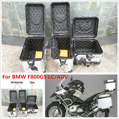 For BMW F800GS LC/ADV Rear Box Container&Side Box Containers Top Cover Inner Bag