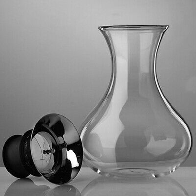 Glass Wine Decanter Capacity Red Wine Carafe Crystal Glass Vivid Breather Carafe