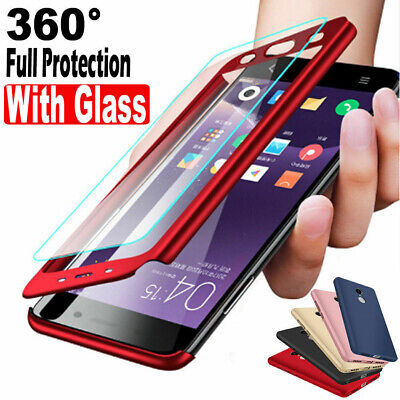 360°Full Body Hybrid Case Shockproof Protection Cover For Xiaomi 9 8SE Redmi 7