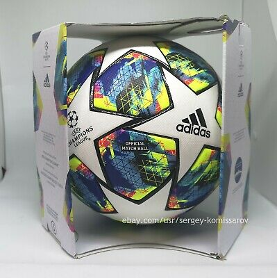 Adidas Champions League Finale 2019-2020 OMB ball, size 5, DY2560, with box