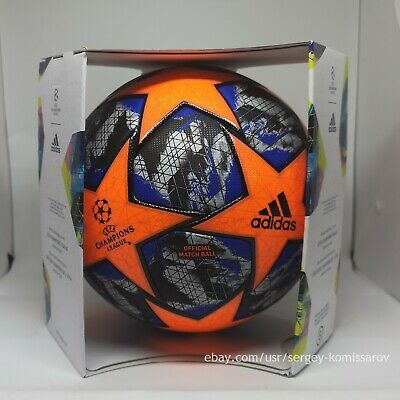 Adidas Champions League Finale 2019-20 OMB winter ball, size 5, DY2561, with box