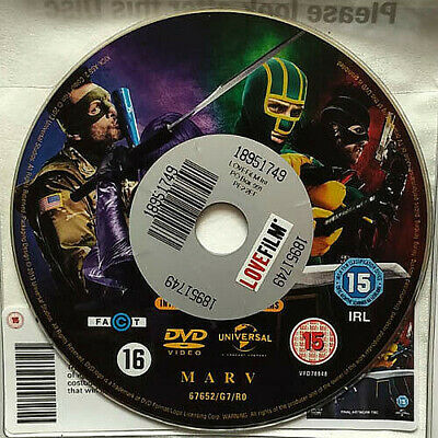 Kick-Ass 2 (DVD) Disc Only - Aaron Taylor Johnson - Chloe Grace Moretz - (2013)