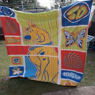 Vintage Scooby Doo Bedding Single Duvet Cover And Pillow Case