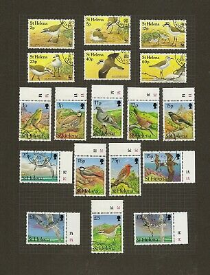 St Helena Fine Used 1990-99 Complete Collection Sg558/799 Cat £525 (226+15 M/S)