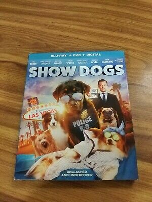 Show Dogs (Blu Ray + DVD + Digital) brand new unopened with all the features