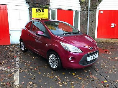Ford Ka 1.3TDCi 2010 FULLY LOADED - AMAZING COLOUR- FULL HISTORY-55K MILES