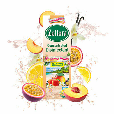 Zoflora Paradise Peach 120ml - Free Shipping