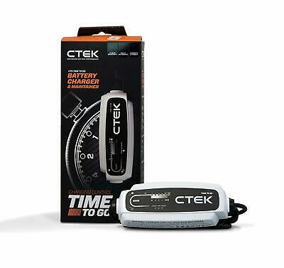 CTEK CT5 Time to Go Fully Automatic Battery Charger with a Countdown Display SW