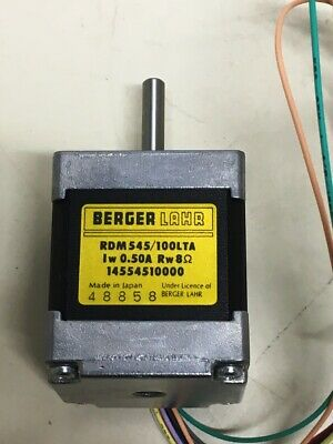 **NEW** Berger Lahr RDM545/100LTA , Stepper Motor 0.50A 8Ω