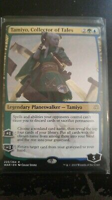 MTG TAMIYO, COLLECTOR OF TALES War of the Spark Rare 1X NM