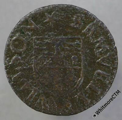 17th Century Token Leicester 54 Samvell Willson Baker's Arms. Norweb 2848
