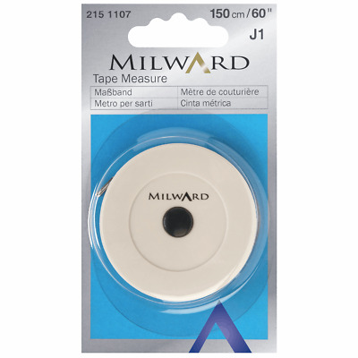 Milward Rondo Retractable Tape Measure Metric Imperial Scale Sewing Tailors