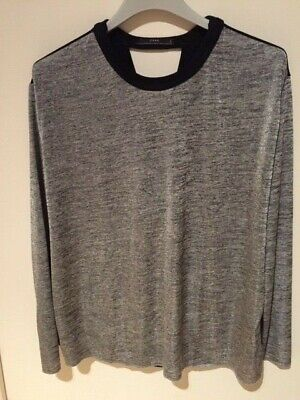 Zara 00Picclick Tee Taille Manches 5 Fr Eur Shirt Longues M hCtQsrd
