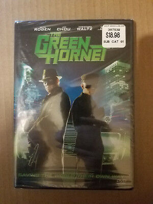 THE GREEN HORNET DVD 2011 Sony Pictures Seth Rogen New & Sealed