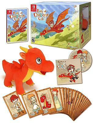 Little Dragons Cafe Limited Edition (Nintendo Switch) Brand New - Region Free