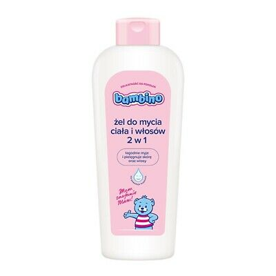 NIVEA - BAMBINO DELICATE BODY AND HAIR WASHING GEL FOR BABY 2in1 400ml
