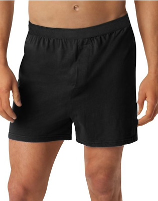 6 Hanes Men's TAGLESS® Knit Boxers with Comfort Flex® Waistband 3X-5X H255K