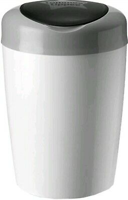Tommee Tippee Simplee Sangenic Nappy Disposal Bin Grey + 1 Preloaded Refill