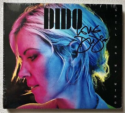 Dido - Still On My Mind Hand Signed Sealed Cd  Autographed