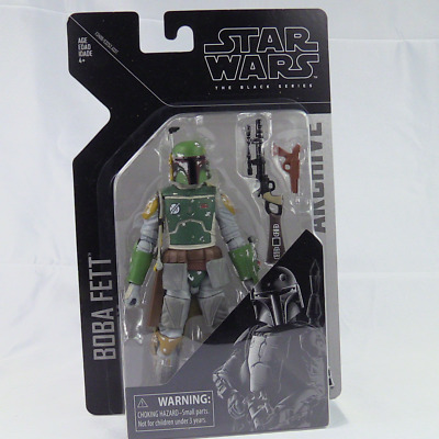 Star Wars The Black Series Boba Fett 6In Action Figure IN BOX
