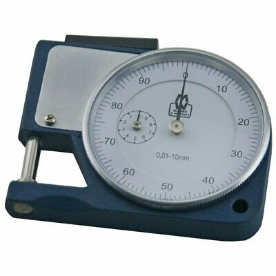 Moore and Wright 10mm Lifting Type Thickness Gauge Caliper Dial Metric MW455-15