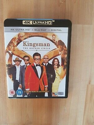 Kingsman: The Golden Circle [4K UHD +  Blu-ray