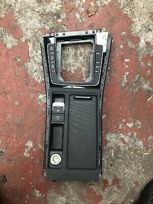 Volkswagen Golf Mk7 Centre Console Unit With Cupholder Unit Complete 5G0862531