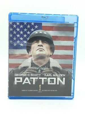 Patton-2 Disc Set-George C. Scott (Blu-ray + DVD, 2009)