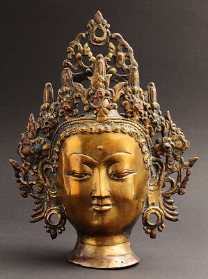 Tibet, India, Nepal, Tara head, Buddha, Avalokiteshvara, Amitaba, Asian Art