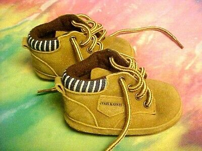 OSH KOSH B' GOSH Soft Brown Leather Shoes Boys Toddler Size 1